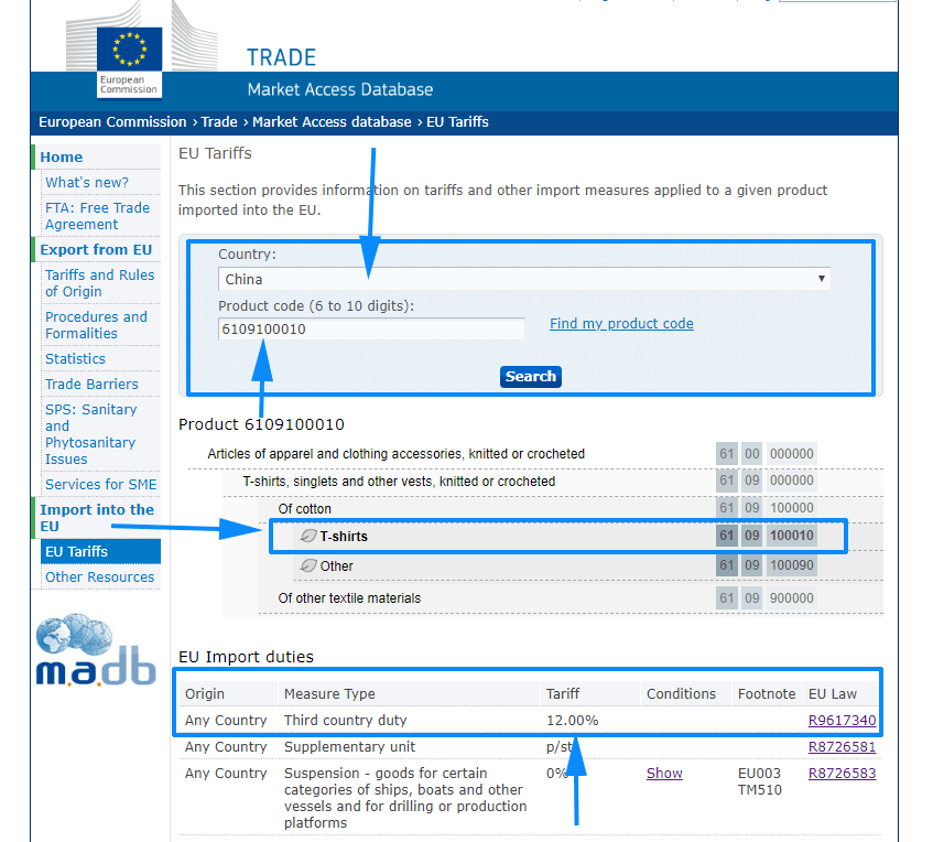 import uk duty calculator